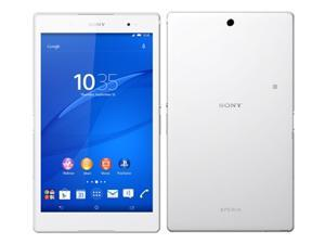 """SONY Xperia Z3 Tablet Compact SGP621 8.0"""" White 16GB 4G LTE UNLOCKED 3GB RAM Tablet + Phone"""