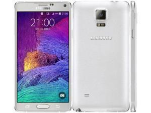 Samsung Galaxy Note 4 Duos SM-N9100 Dual Sim White 16GB Factory UNLOCKED 3GB RAM Smartphone
