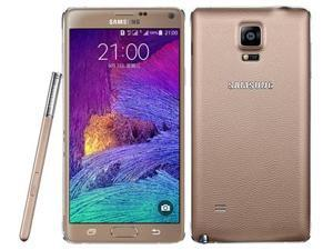 Samsung Galaxy Note 4 Duos SM-N9100 Dual Sim Gold 16GB Factory UNLOCKED 3GB RAM