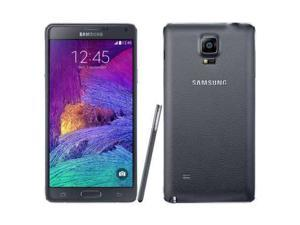 Samsung Galaxy Note 4 (SM-N910G) 4G LTE Black 32GB Factory UNLOCKED 3GB RAM Smartphone