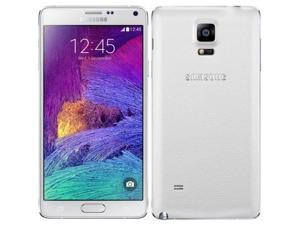 Samsung Galaxy Note 4 (SM-N910G) 4G LTE White 32GB Factory UNLOCKED 3GB RAM Smartphone