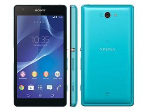 "SONY Xperia Z2A D6563 4G LTE Turquoise Blue 20.7MP 5.0"" 16GB FACTORY UNLOCKED 3GB RAM Smartphone"