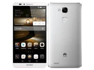 "Huawei Ascend Mate 7 MT7-L09 4G LTE Silver 16GB FACTORY UNLOCKED 6.0"" 13MP 2GB RAM Smartphone"