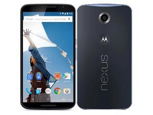 Motorola Nexus 6 XT1100 4G LTE Midnight Blue 32GB UNLOCKED 13MP 3GB Ram Smartphone