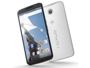 Motorola Nexus 6 XT1100 4G LTE Light Grey 32GB UNLOCKED Smartphone 13MP 3GB RAM