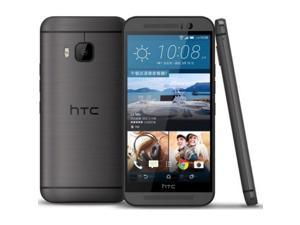 "HTC One M9 4G LTE 64GB Gunmetal Gray FACTORY UNLOCKED 5"" 3GB RAM Smartphone"