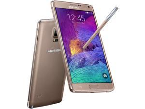 Samsung Galaxy Note 4 SM-N910C 4G LTE Gold 32GB Factory UNLOCKED 3GB RAM Smartphone