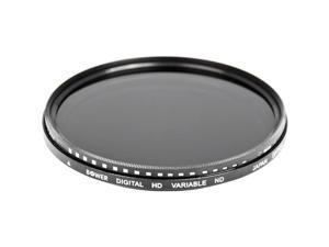 Bower 72mm Variable Neutral Density Filter for Analog and DSLRs Cameras #FN72