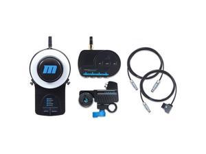 Redrock Micro microRemote Wireless Focus Bundle for Camera and Lens, Includes FlexCables, microRemote Handheld Wireless Controller, Basestation, Torque Motor