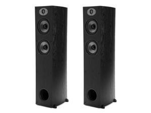 Polk Audio TSx 330T 2-Way High Performance Floorstanding Tower Speaker Pair, 33Hz-25kHz, Black