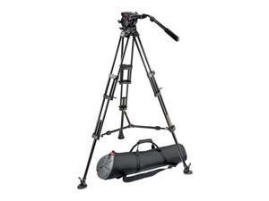 Manfrotto Video 526 Pro Fluid Video Head w/545B Pro Video Tripod & MBAG100P Bag