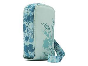 "Case Logic PTL-100 Trend Compact Camera Case, Size 4.6x3.1x1.1"" -Frost Floral"