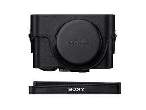 Sony LCJ-RXF Premium Leather-Like Jacket Case for RX-100 Series #LCJRXF/B