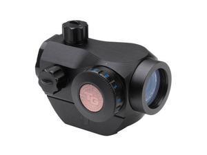 TruGlo Triton 1x20 Red-Dot Sight, 3-Color 5 MOA Reticle, Black #TG8020B