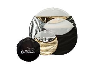 Photogenic 908563 Chameleon 22in 5-In-1 Disc Reflector