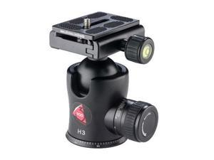 3Pod H3 Magnesium Alloy BallHead with Quick Release Plate, (Capacity 28.6 lbs)