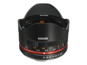 Bower Ultra-Wide 8mm f/2.8 Fisheye Lens for Samsung NX Digital Cameras