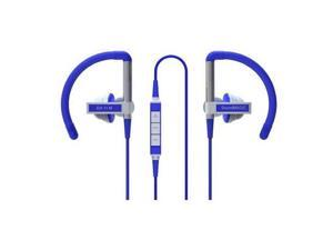 SoundMAGIC EH11M Clip on In-Ear Headphones with Mic and Remote, Blue #EH11MBL