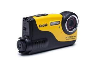 Kodak PixPro WP1 Waterproof Digital Camera, 16MP, 720p, 16' Depth Rating #WP1-YL