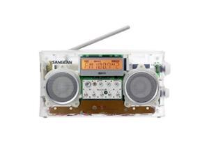 Sangean FM-Stereo RBDS/AM Digital Tuning Portable Receiver, Clear #PR-D5 CL