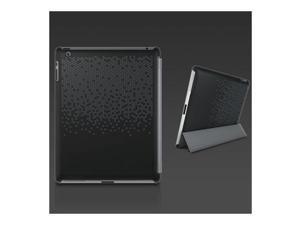XtremeMac Microshield Silkscreen Soft Case for iPad 3 & iPad 4, Black