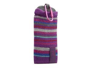 "Case Logic UKP-2 Universal Knit Pocket, Size 5.75x3x1"", Color: Gotham Purple."