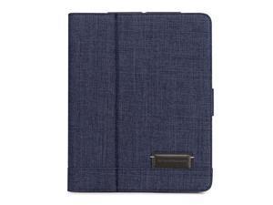 Brenthaven Collins Folio for iPad 2/3/iPad with Retina Display - Indigo Chambray