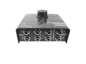 Hosa Line-level Audio Signal Selector, Reversable #SLW333