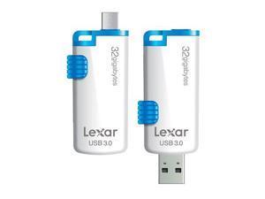 Lexar 32GB JumpDrive M20 Mobile USB 3.0 Flash Drive #LJDM20-32GBSBNA
