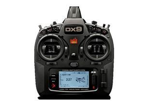 Spektrum DX9 Black Edition System Transmitter with AR9020 Receiver #SPM9900