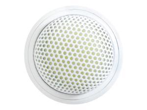Shure MX395W/O Microflex Low Profile Boundary Microphone, Omnidirectional, White
