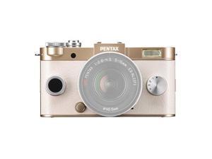 PENTAX 06218 12.4 Megapixel Q-S1 Digital Camera (Body&#59; Champagne Gold)