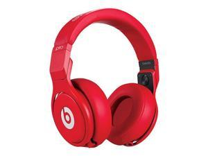 Beats Electronics Pro Lil Wayne MH6R2AM/A Over Ear Headphones - Red