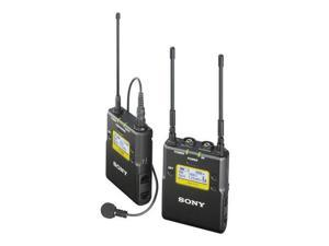 Sony Integrated Wireless Bodypack Lavalier Mic System, 566-608 & 614-638MHz
