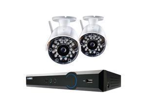 Lorex LH034 Eco Blackbox3 4-Ch 500GB HDD DVR with 2x Wireless Outdoor Cameras