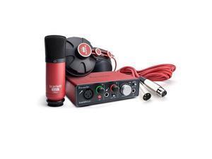 Focusrite Scarlett Solo Studio 2-In/2-Out USB Recording Audio Interface