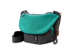 Ape Case AC560 Tech Messenger Case for Camera/DSLR System, Gray & Teal #AC560T