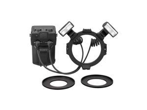 Sony HVL-MT24AM Macro Twin Flash Kit for (alpha) DSLR Cameras #HVLMT24AM