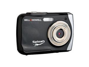 Bell & Howell Splash WP7 Waterproof Digital Camera, Black #WP7 BK