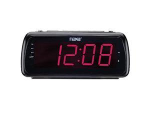 "Naxa  Large 1.8"" Led Alarm Clock With USB Charge PortNAXNRC180"