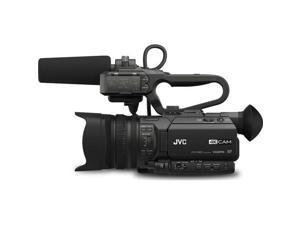 JVC GY-HM200U 4KCAM Compact Handheld Camcorder with Integrated 12X Lens
