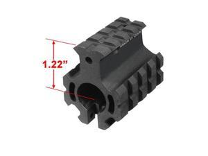 "UTG Pro Model 4/15 High Profile Quad-rail Gas Block for .75"" Barrel #MTU012H4"