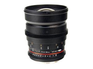 Bower 24mm T/1.5 Wide-Angle Digital Cine Lens for Sony E-Mount Digital Cameras