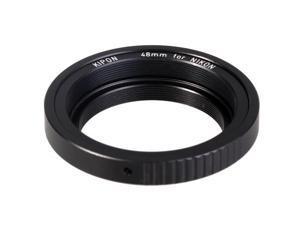 Kipon Lens Mount Adapter from Scope M48 Screw To Nikon F Body #KP-LA-M48-NKF