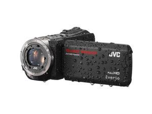 JVC GZR450BUS Quad-Proof Full HD Camcorder - Black