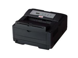 Okidata B4600 (62446601) 600 x 2400 DPI USB / Parallel Monochrome Laser Printer - Black