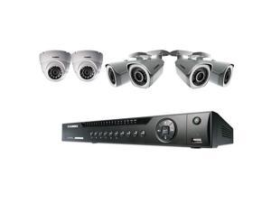 Lorex 8 Channel 2TB HD Network NVR with 4 Bullet Cameras and 2 Dome Cameras