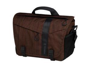 Tenba DNA 11 Messenger Bag - Holds DSLR Camera with 2-3 Lenses - Dark Copper