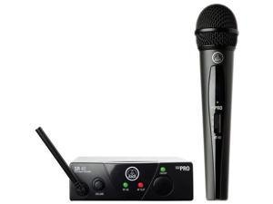 AKG Acoustics WMS 40 Mini Vocal Set Plug & Play Wireless Mic System, Frequency C