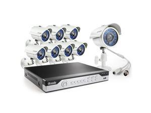 Zmodo 8CH H.264 960H DVR Security System with 1TB HDD, Includes 8x 700TVL Camera